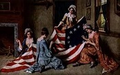 Betsy Ross Making the Flag
